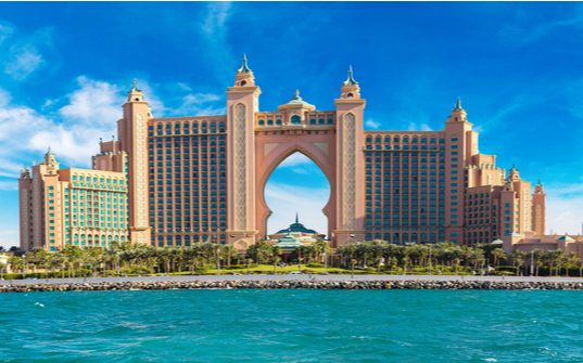 Arrive in Dubai and check-in at the hotel Atlantis, The Palm