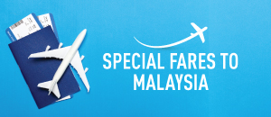 Special fares to Malaysia with Singapore Airlines
