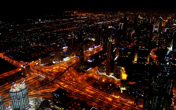 Spectacular View From Burj Khalifa