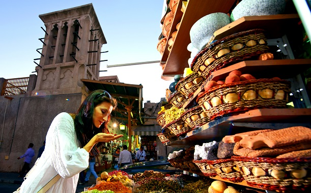 Spice Souk at Old Dubai