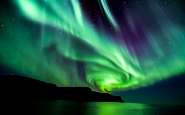 Spiral Northern Lights