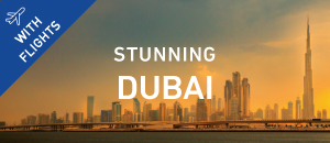 Stunning Dubai with Flights