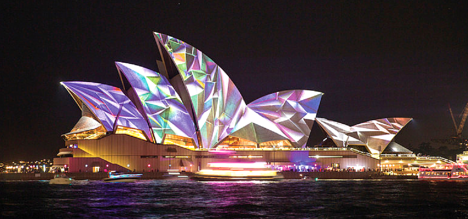 how to make sydney opera house