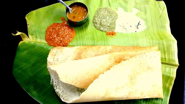 Tasty veg meals at Sarvanna Bhavan