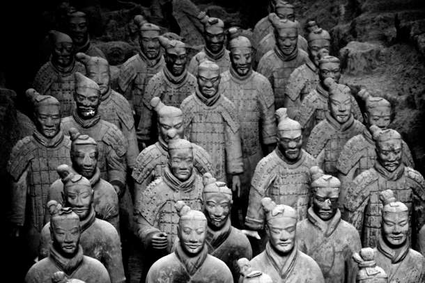 Terracotta Warriors Museum,  Xian