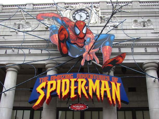 The Amazing Adventures of SpiderMan at Universal Studios, Japan