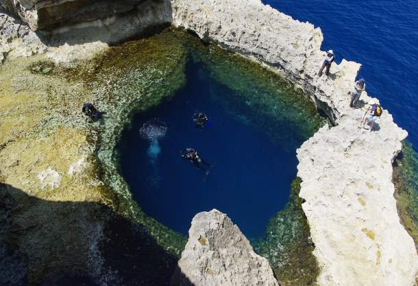 The Blue Hole, Malta