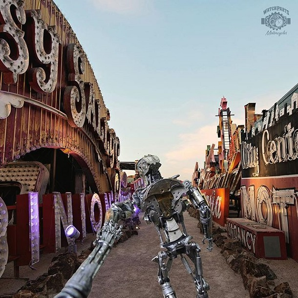 The Robots In The Neon Boneyard, Las Vegas
