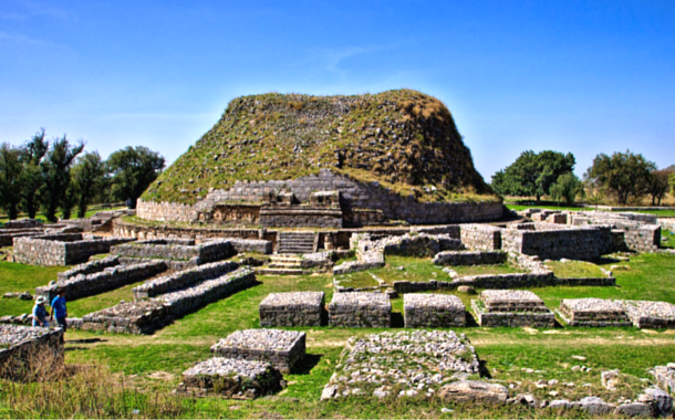 The ruins of Taxila, Pakistan