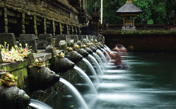 The sacred springs temple - Tirtha Empul, Bali