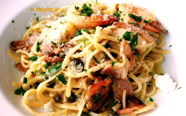 The Surf and Turf Pasta