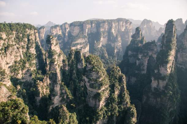 The Tianzi mountains, China