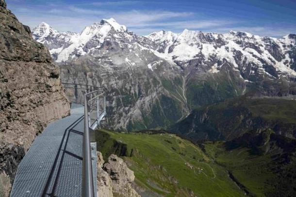 Thrill walk, schilthorn
