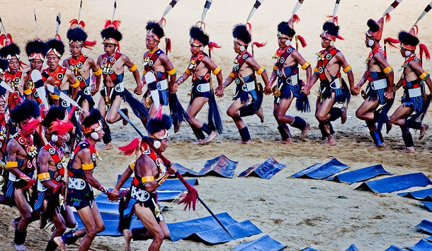 Tribal dance, Nagaland