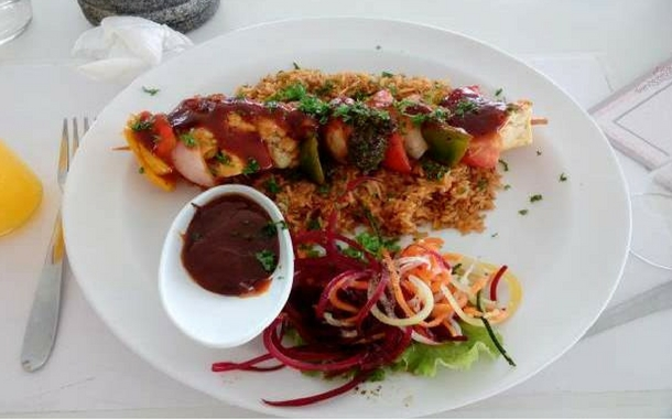 Veg Shashlik, Rendezvous Cafe Restaurant
