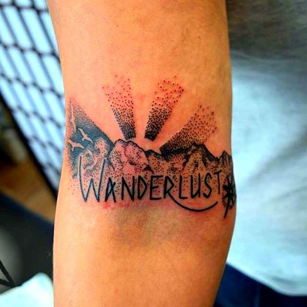 wanderlust tattoo version 1