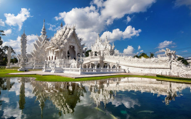 White Temple in Chiang Rai Province