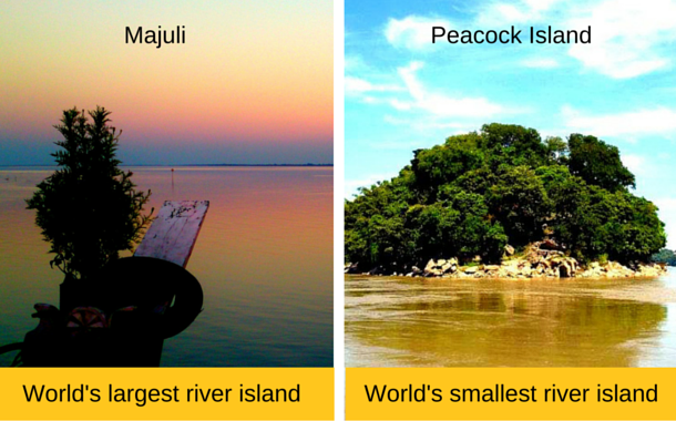 World's largest and smallest river islands in Assam