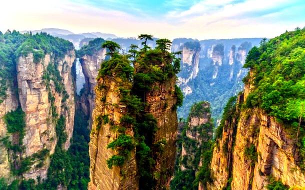 Zhangjiajie Pillars, China